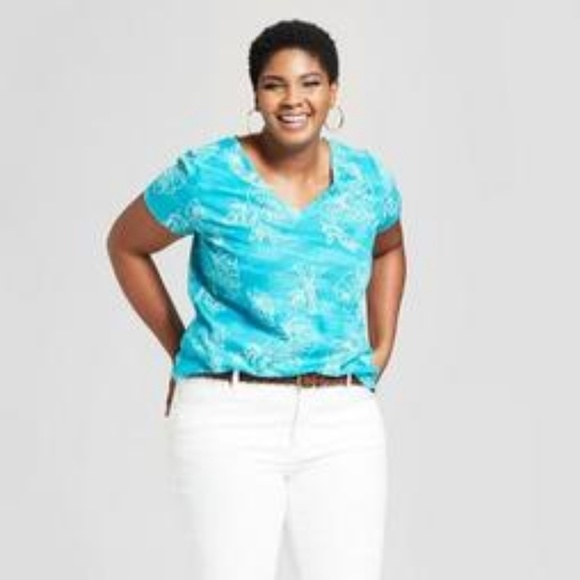 a482476df744 Ava & Viv Tops | Nowt Avaviv Womens Short Sleeve T Shirt | Poshmark
